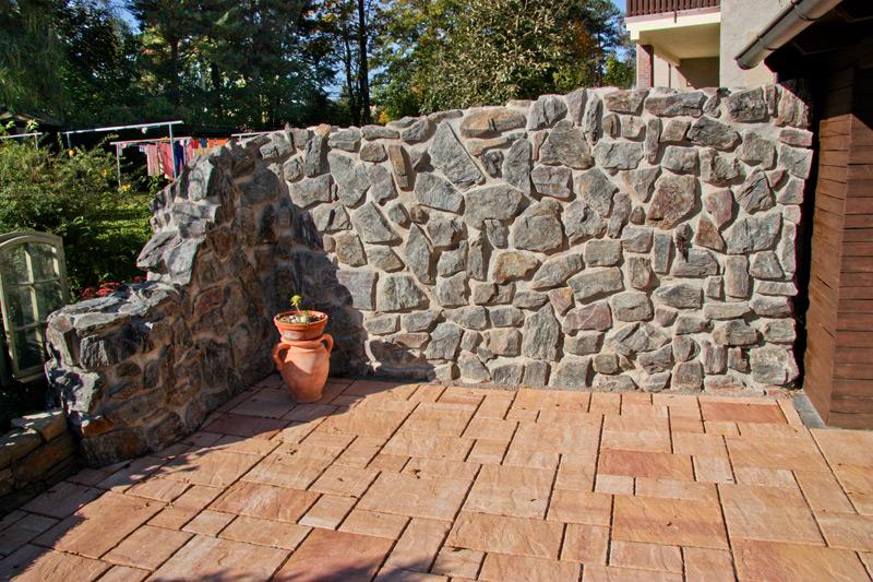 Mauern Zaune Sichtschutz Steine Landschaftsbau Schebitz